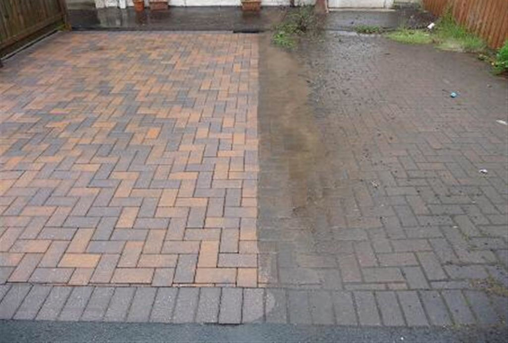 Driveways Cleaning Washing Kerry and Limerick Clare